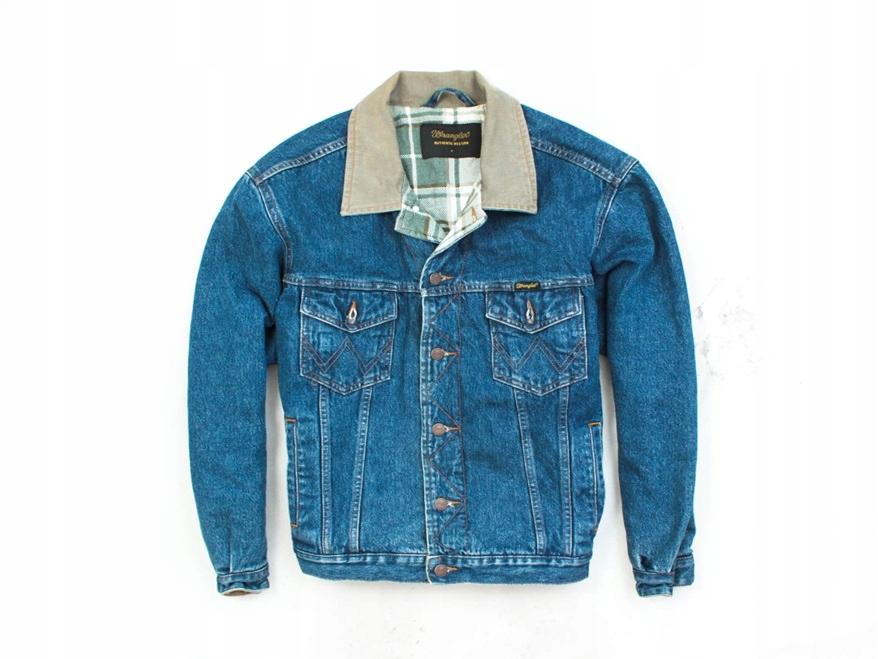 5ecdd36c N Wrangler Kurtka Dżinsowa Męska Katana Jeans r M - 7359938968 ...