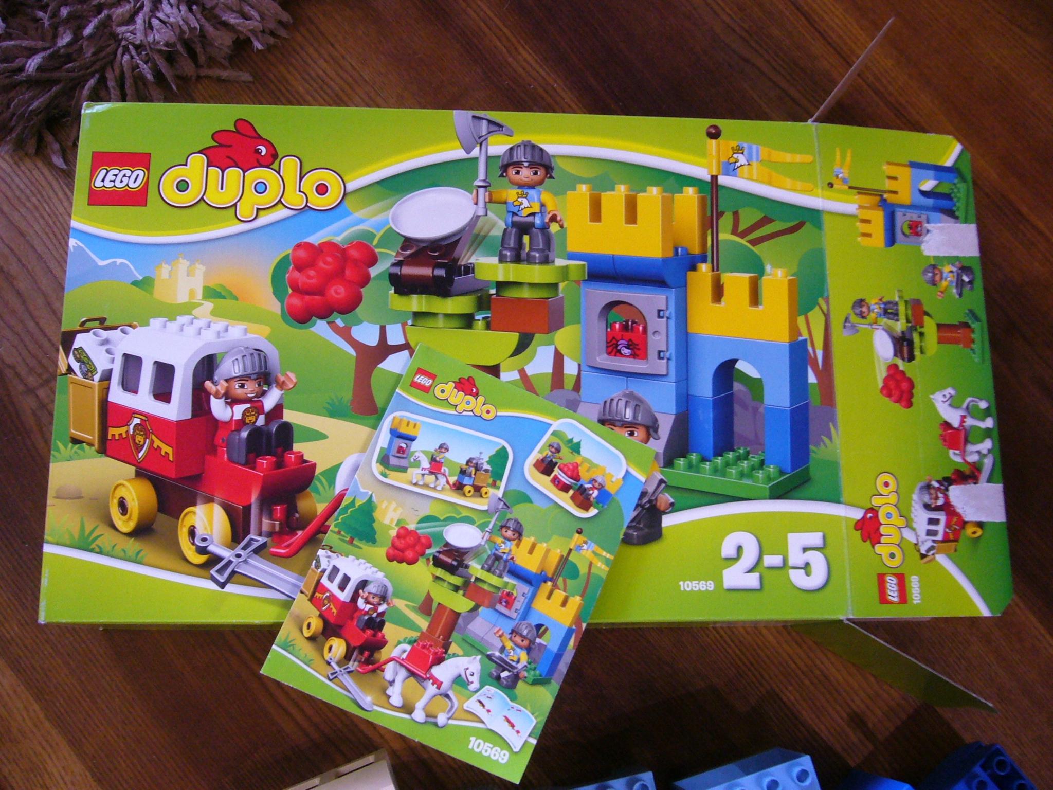 Klocki Lego Duplo 10569 Wielki Skarb Zamek Powóz 7655974437
