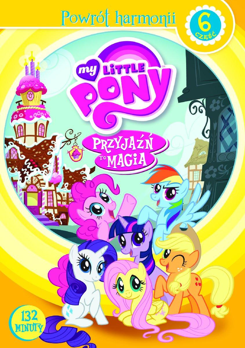 My Little Pony Przyjaźń to magia Część 6 DVD