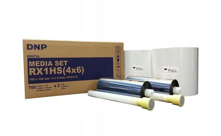 DNP DS-RX1HS(4x6) media set papier 10x15 + folia