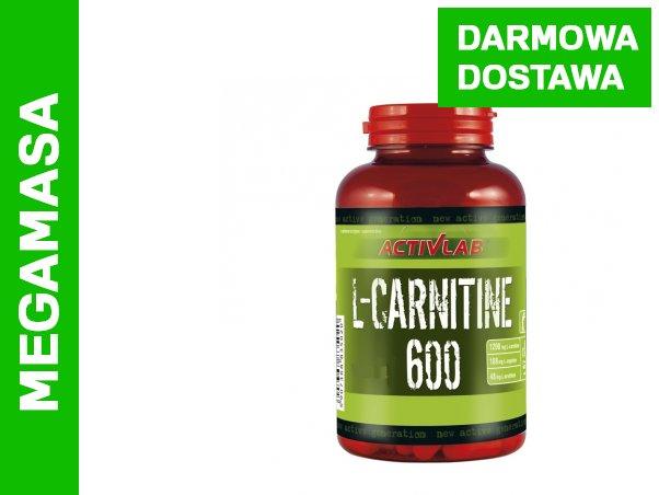 Activlab L-Carnitine 600 30 kaps. WYSYŁKA 24H