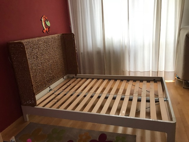 Rama łóżka Ikea 140 X 200 Warszawa 7168221505 Oficjalne