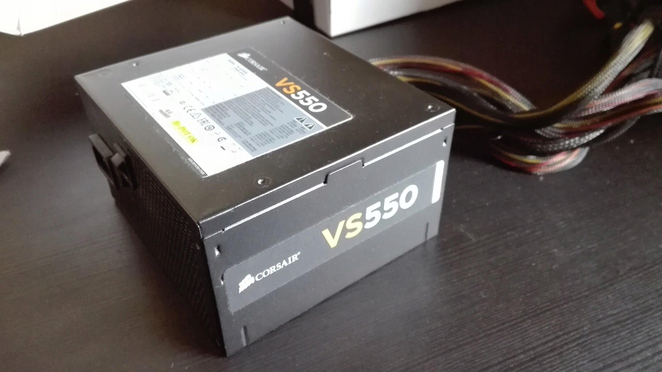 Corsair Vs 550 7419482381 Oficjalne Archiwum Allegro Vs550