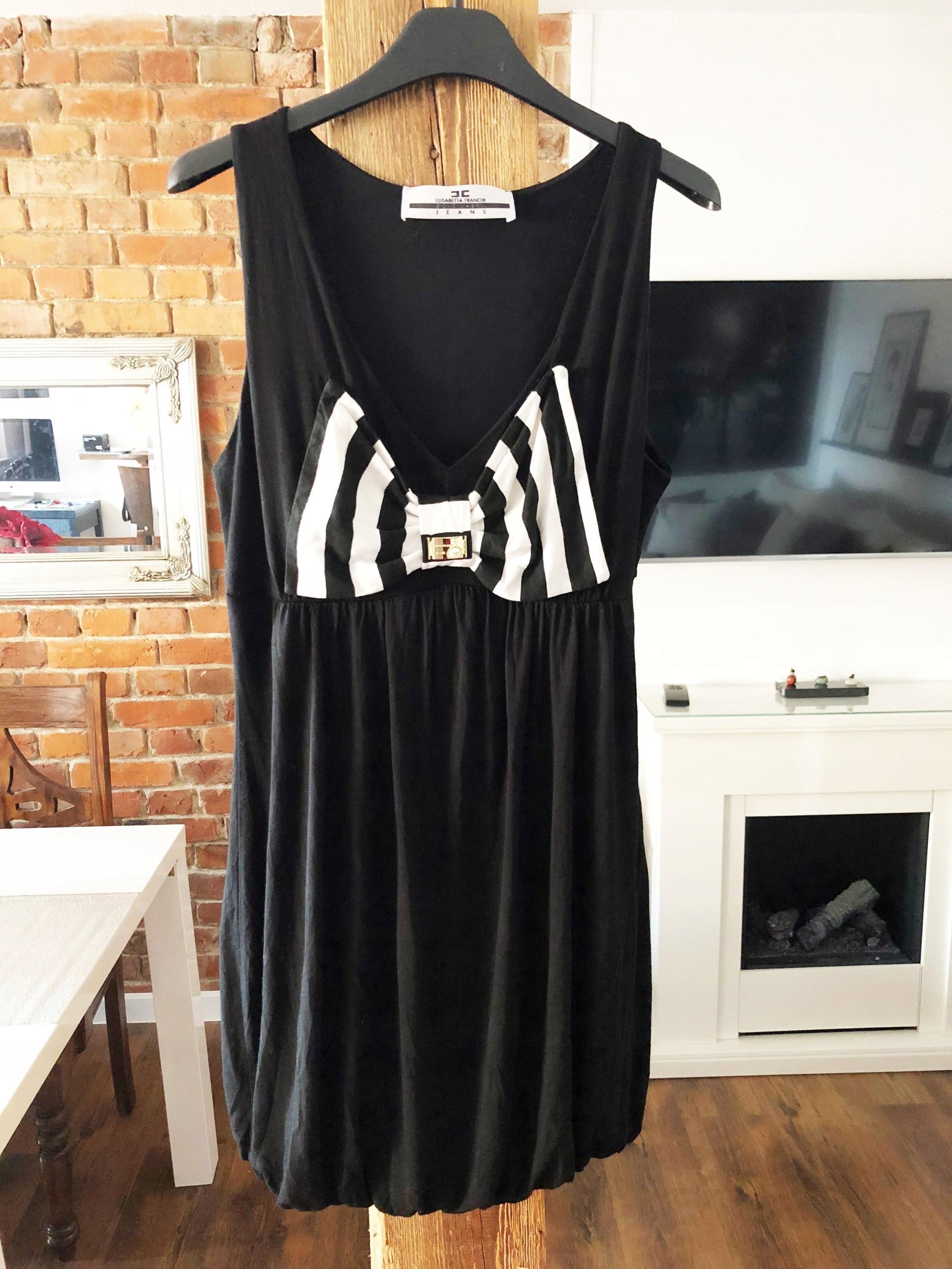 a09fdab635 ELISABETTA FRANCHI CELYN B sukienka M 38 - 7410037535 - oficjalne ...