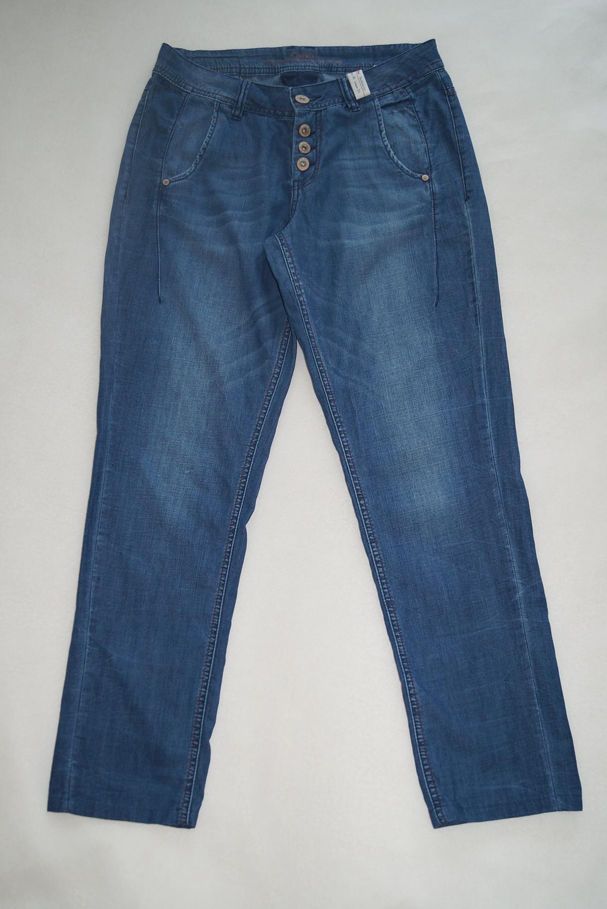 2a28913906ee0a S.Oliver jeansy dżinsy letnie cienkie 36 S/M - 7455883851 ...