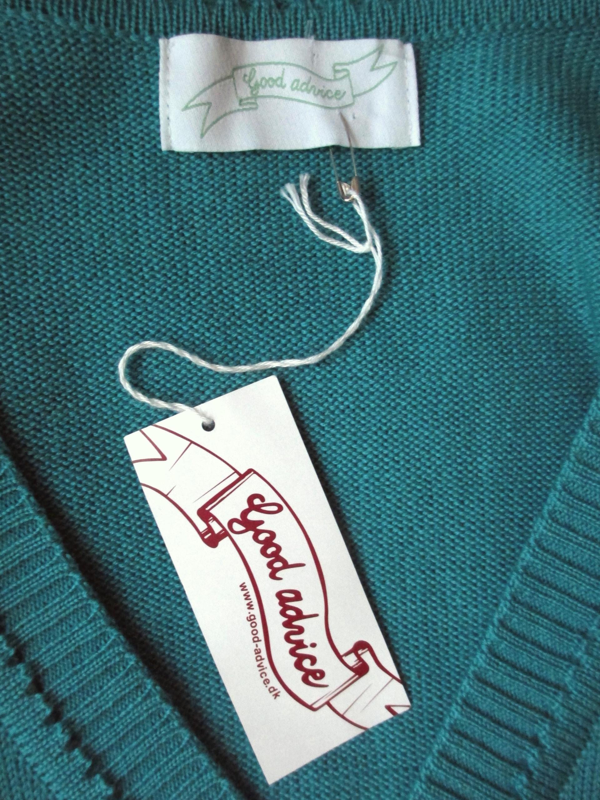 c0f660cdb0c5e5 GOOD ADVICE sweter turkusowy merino wool NOWY 36 - 7651247716 ...