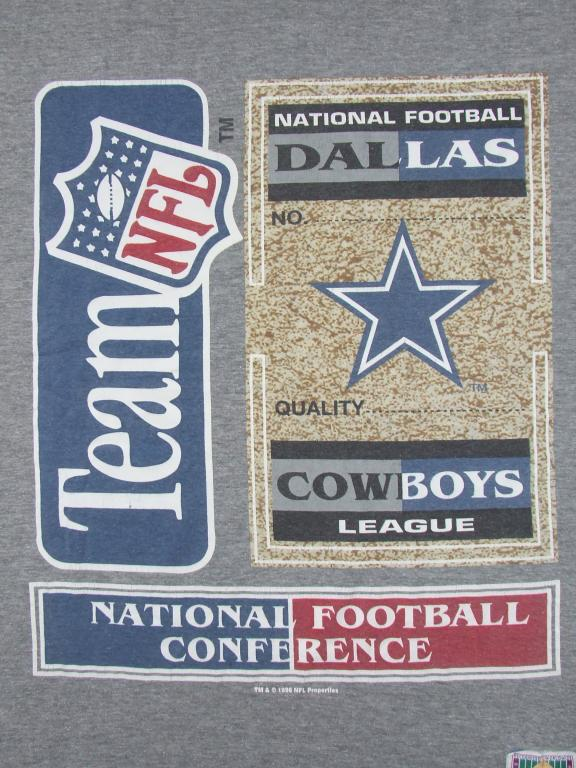 NFL TEAM DALLAS FOOTBALL - NUTMEG KOSZULKA r. L
