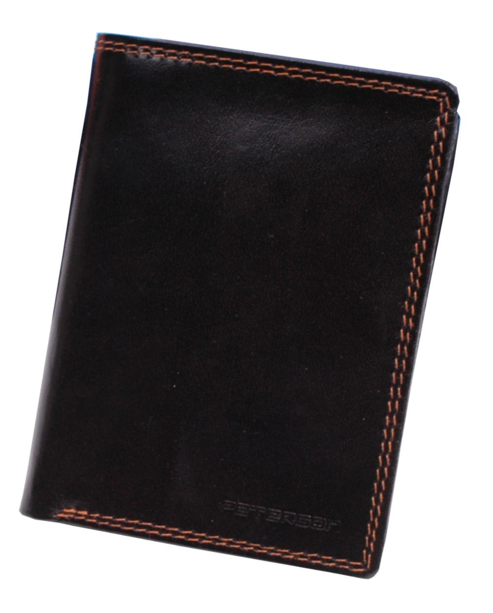 505f218e4d7d3 PETERSON portfel męski 342 brązowy skóra GRAWER - 7071370381 ...