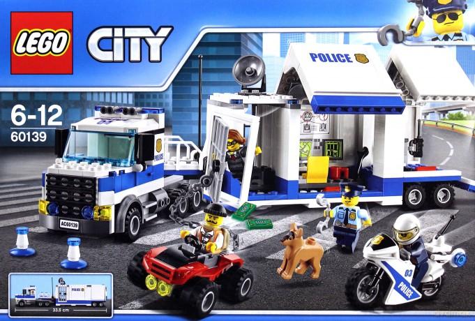 Lego City Policja 60139 Mobilne Centrum Dowodzenia 7712931124