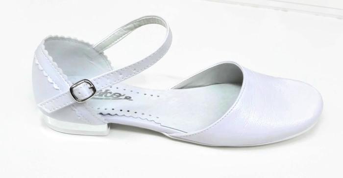 1294ef5669 Komunijne buty dziewczę sandałki r39 pantofle MIKO - 7164710896 ...