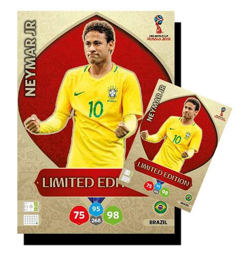 Karta World.Neymar Xxl Limited Duza Karta World Cup 2018 7343022134