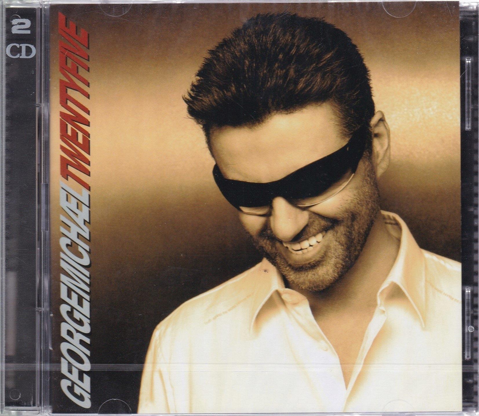 2 CD- GEORGE MICHAEL- TWENTYFIVE: BEST OF (FOLIA)