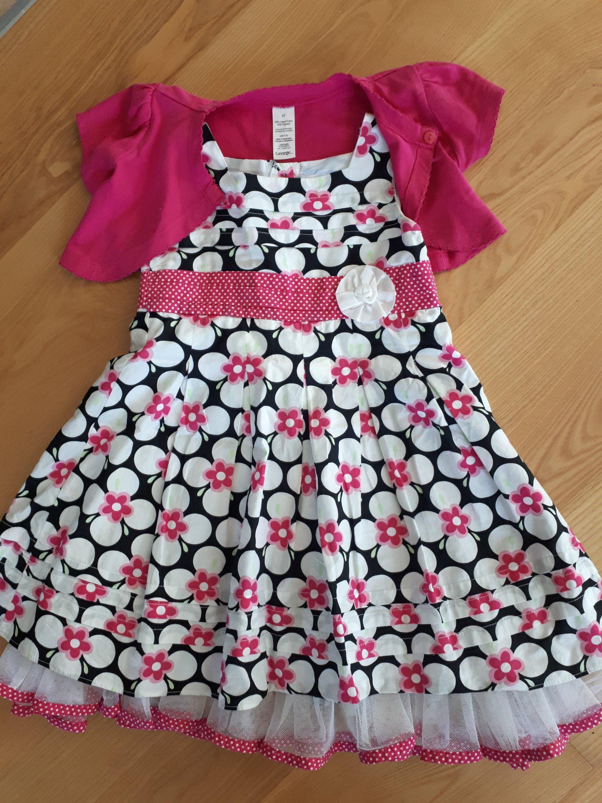 b383b72255 GEORGE Sukienka wizytowa wesele roz. 98 104 - 7331069863 - oficjalne ...