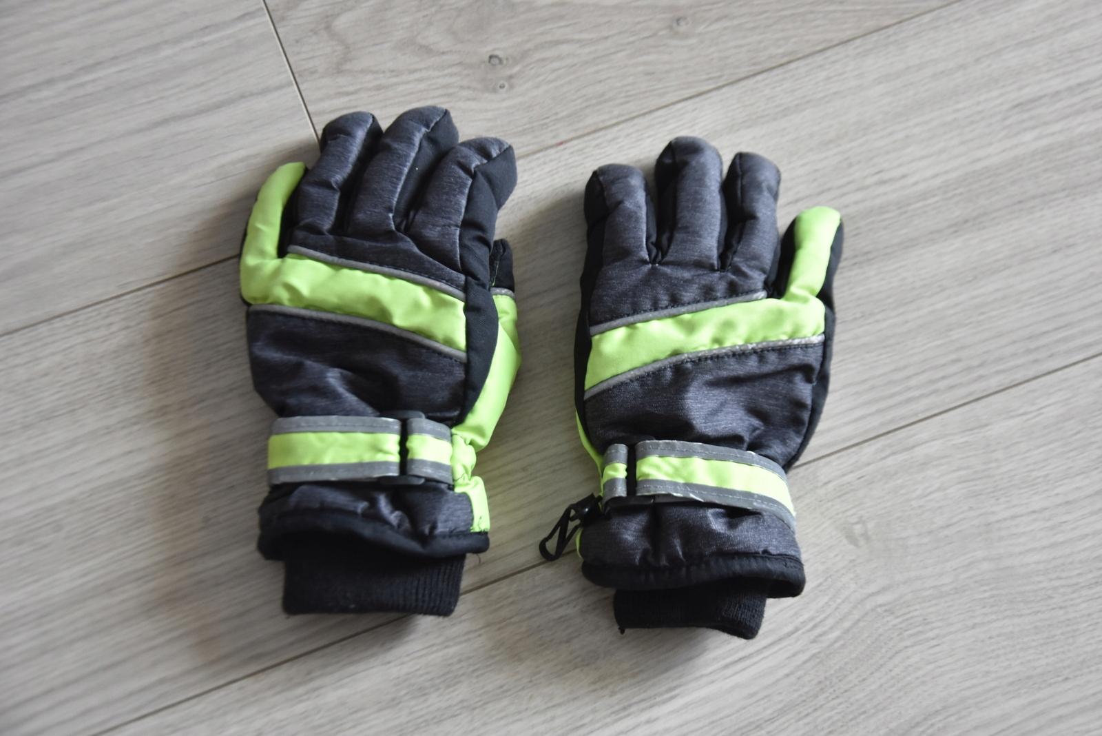 Rękawice narciarskie juniorskie rękawiczki 6-7 lat