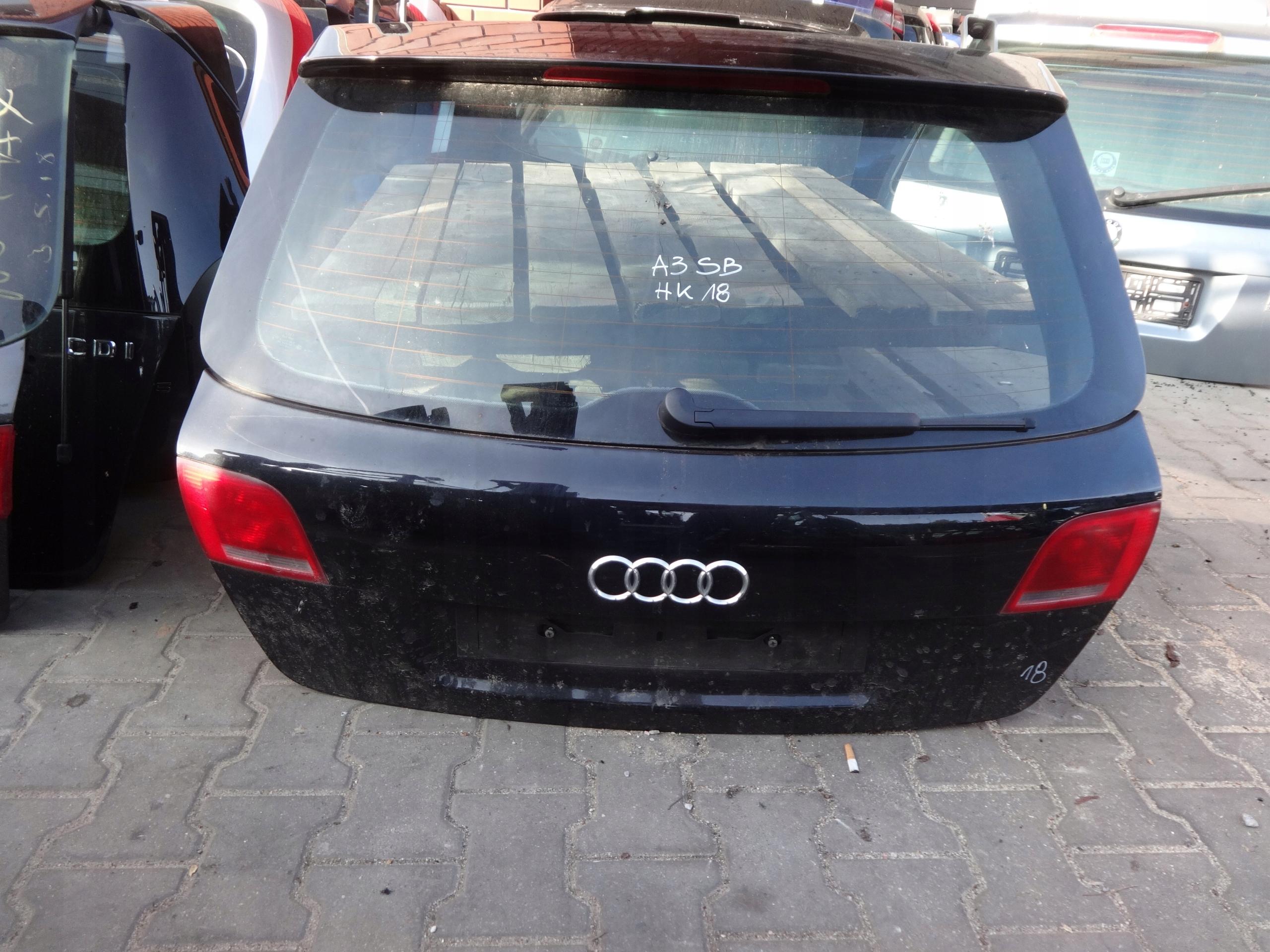Hk19 Audi A3 Sportback Klapa Bagażnika Tylna Tył 7620084825