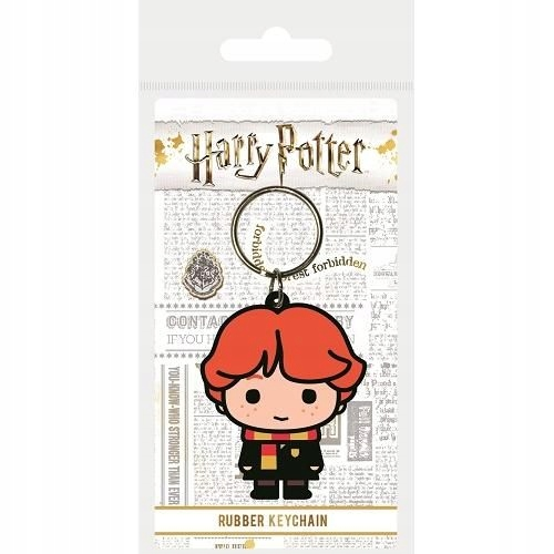 Brelok do kluczy gumowy Harry Potter (Ron Chibi)