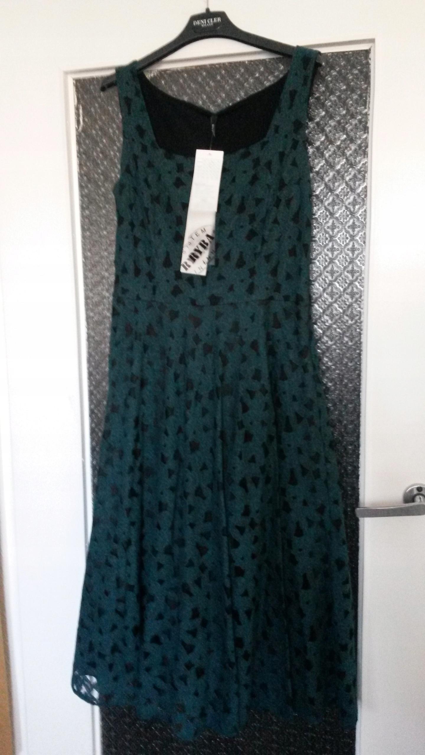 d3ea89964d RYBA koronkowa sukienka 38 40 zieleń nowa Święta - 7673639396 ...