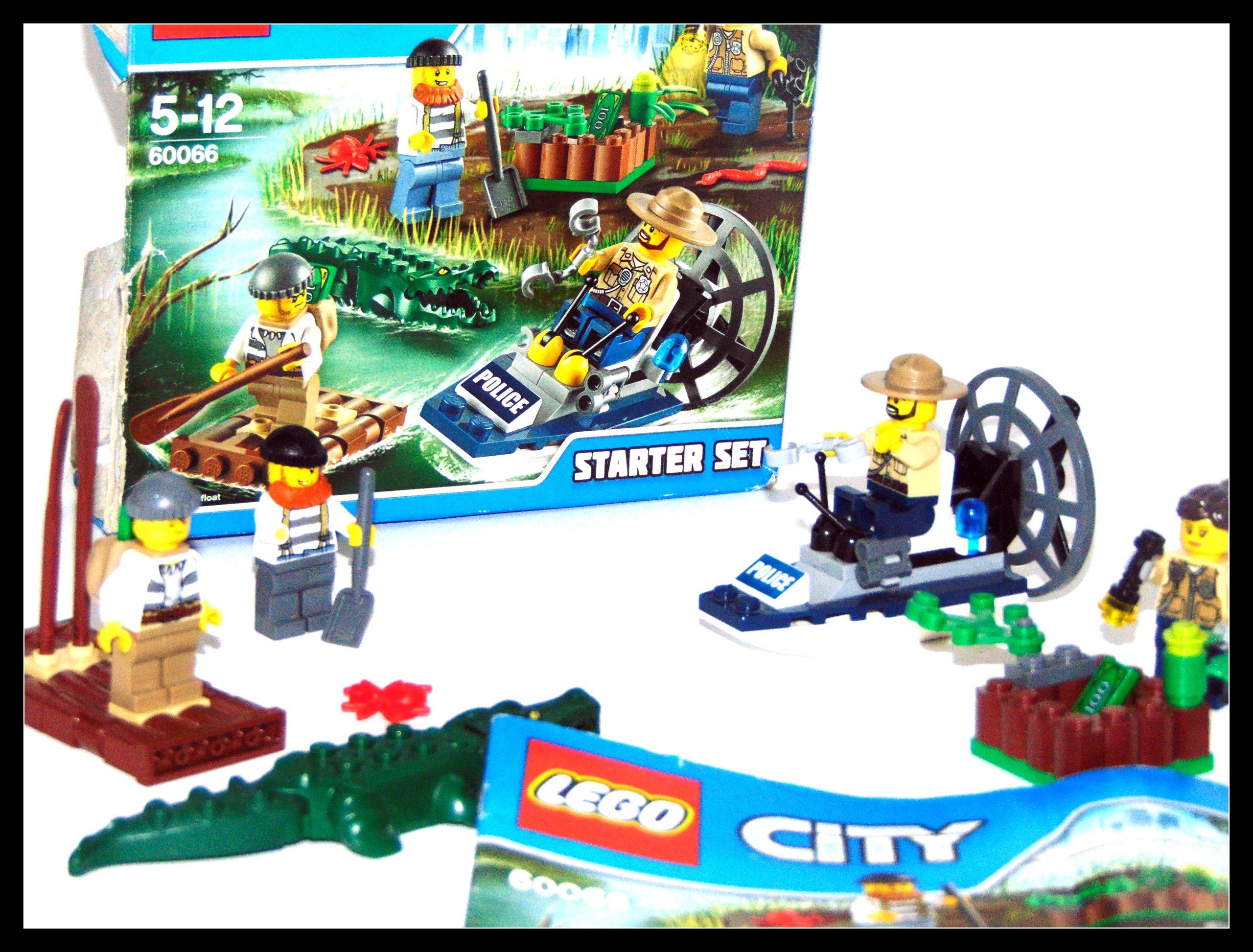 Lego City 60066 Policja Wodna Zestaw Startowy Od 1 7421391584