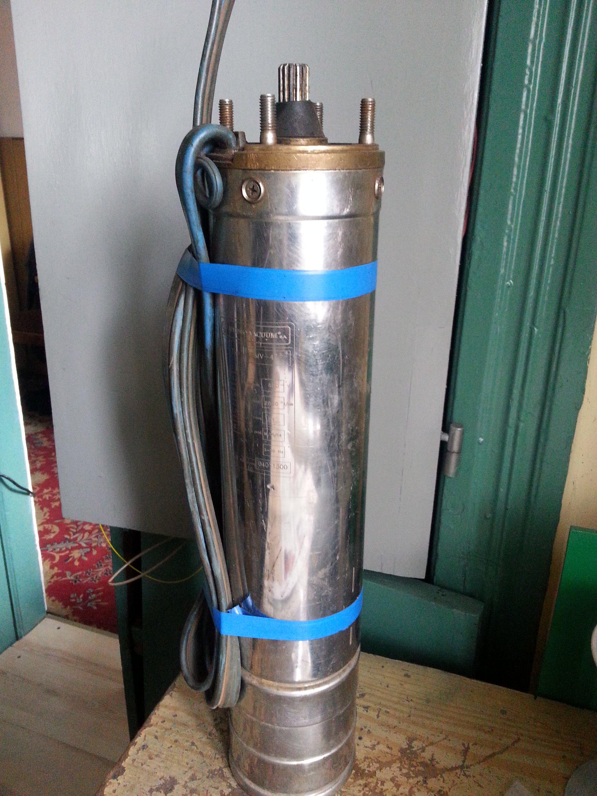 Poważne Pompa głębinowa-silnik HYDRO-VACCUM 1,5 kW/400V - 7316990489 GI65
