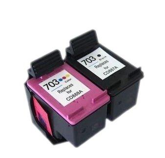2x TUSZ HP 703 CD887A D730 F735 K109A K209A