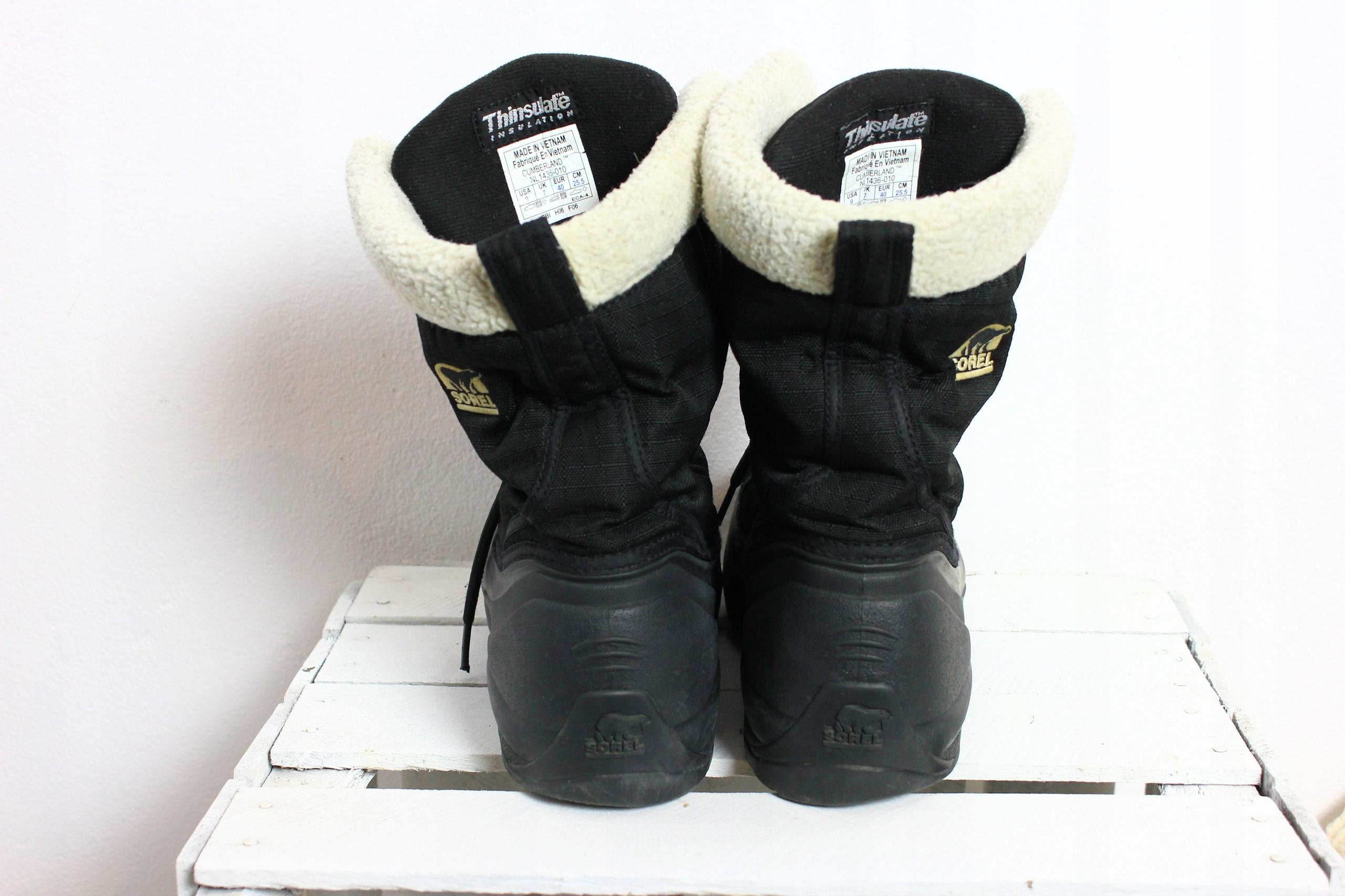 f6023516654e0 Oryginalne śniegowce ocieplane Sorel 40 - 7720665118 - oficjalne ...