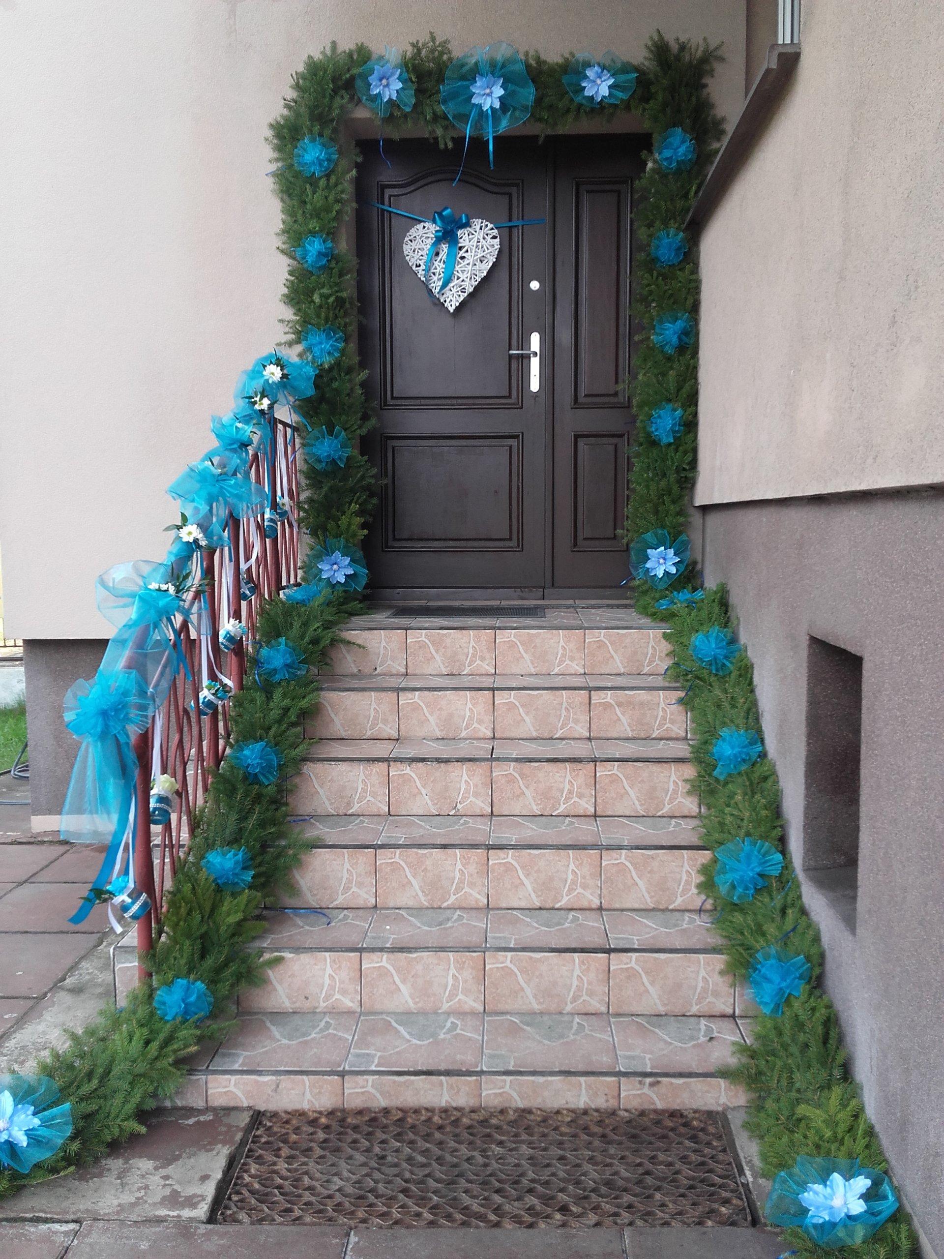 Bardzo dobry Dekoracje ślubne korona wystrój bramy wesele - 7002184254 KT79