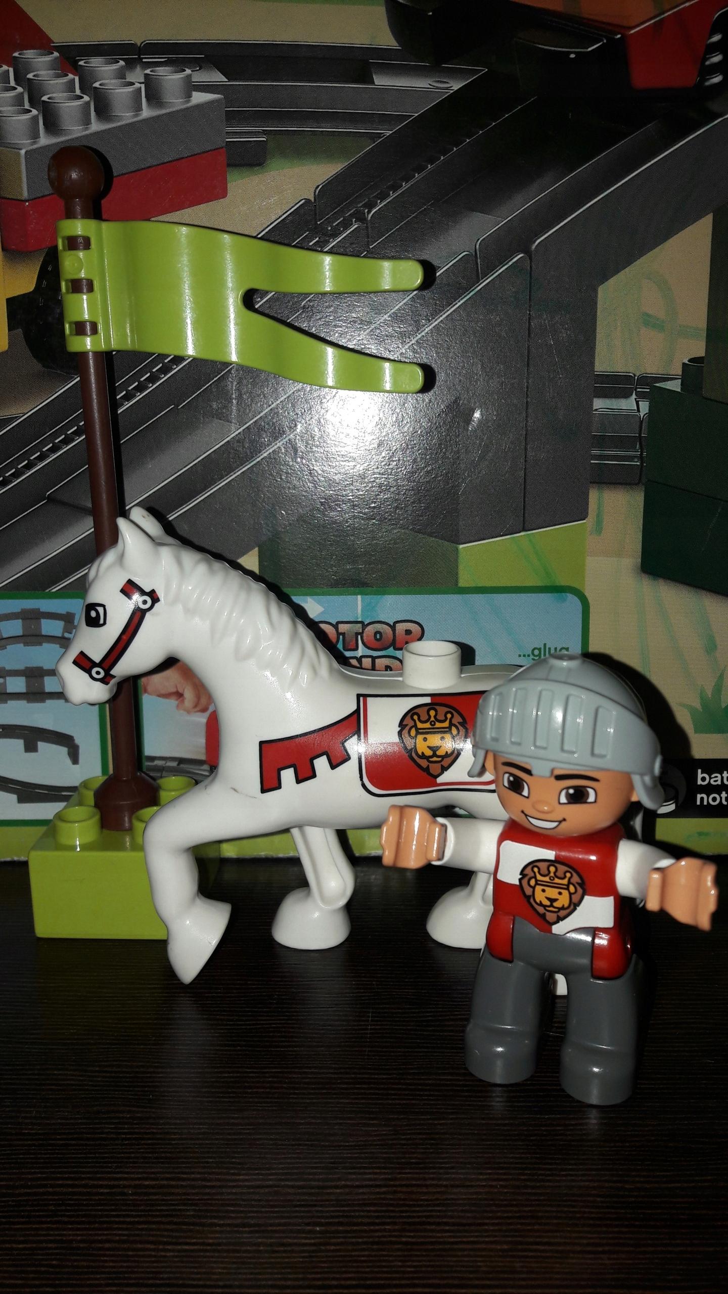Klocki Lego Duplo Koń Rycerz Zamek 7591658823 Oficjalne Archiwum