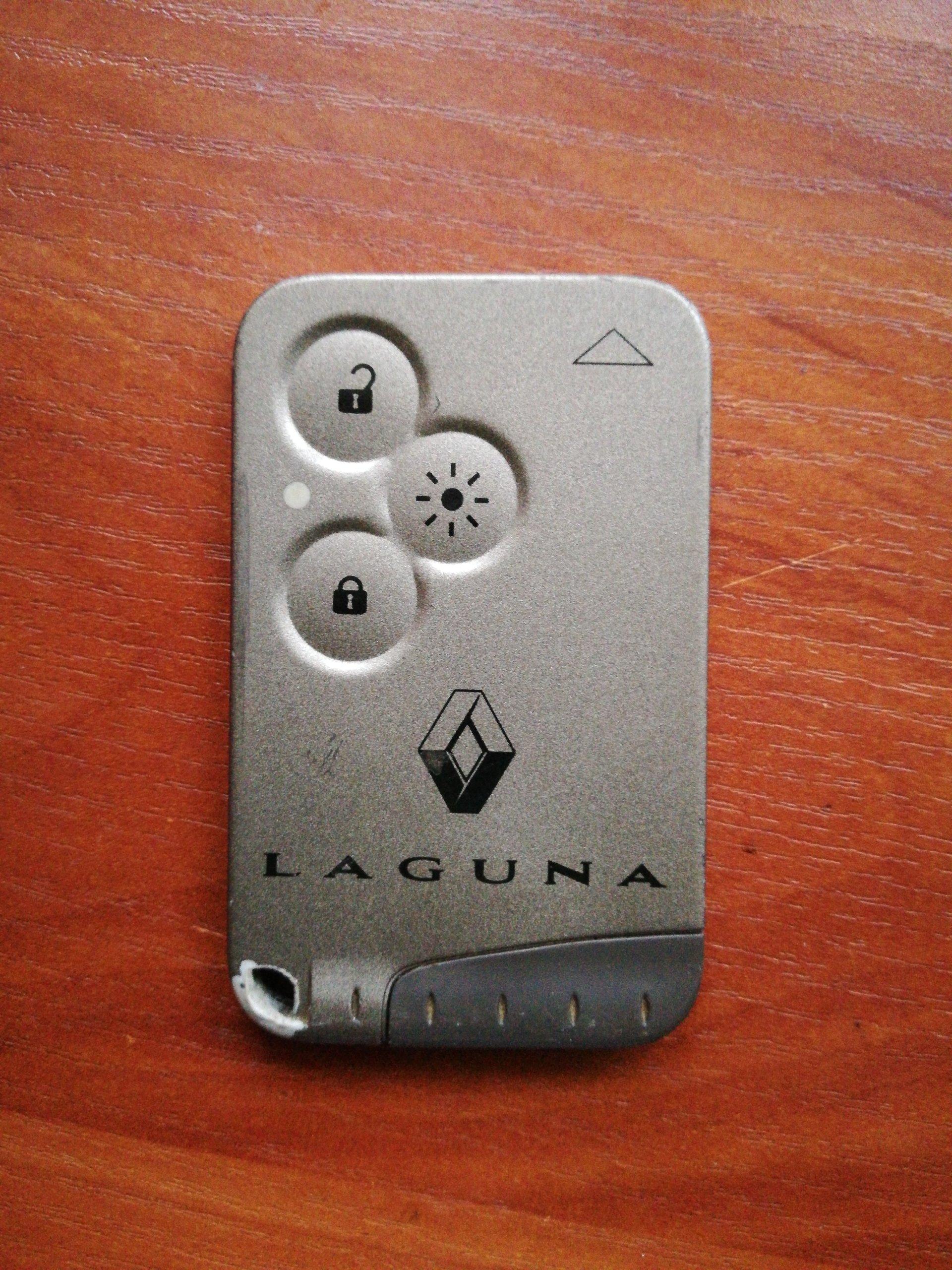 Kluczyk Karta Pilot Renault Laguna Ii 3 Przyciski 7154892486
