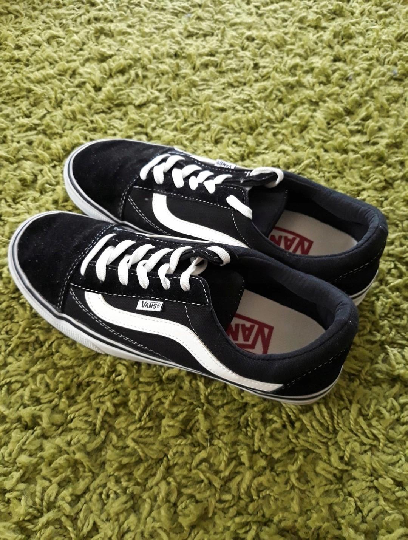 Czarne buty trampki VANS tenisówki Old S