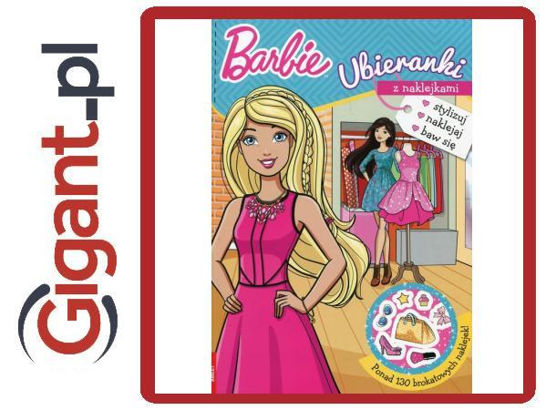 551dfc18b7e94f Barbie Ubieranki Z Naklejkami - 6997704065 - oficjalne archiwum allegro