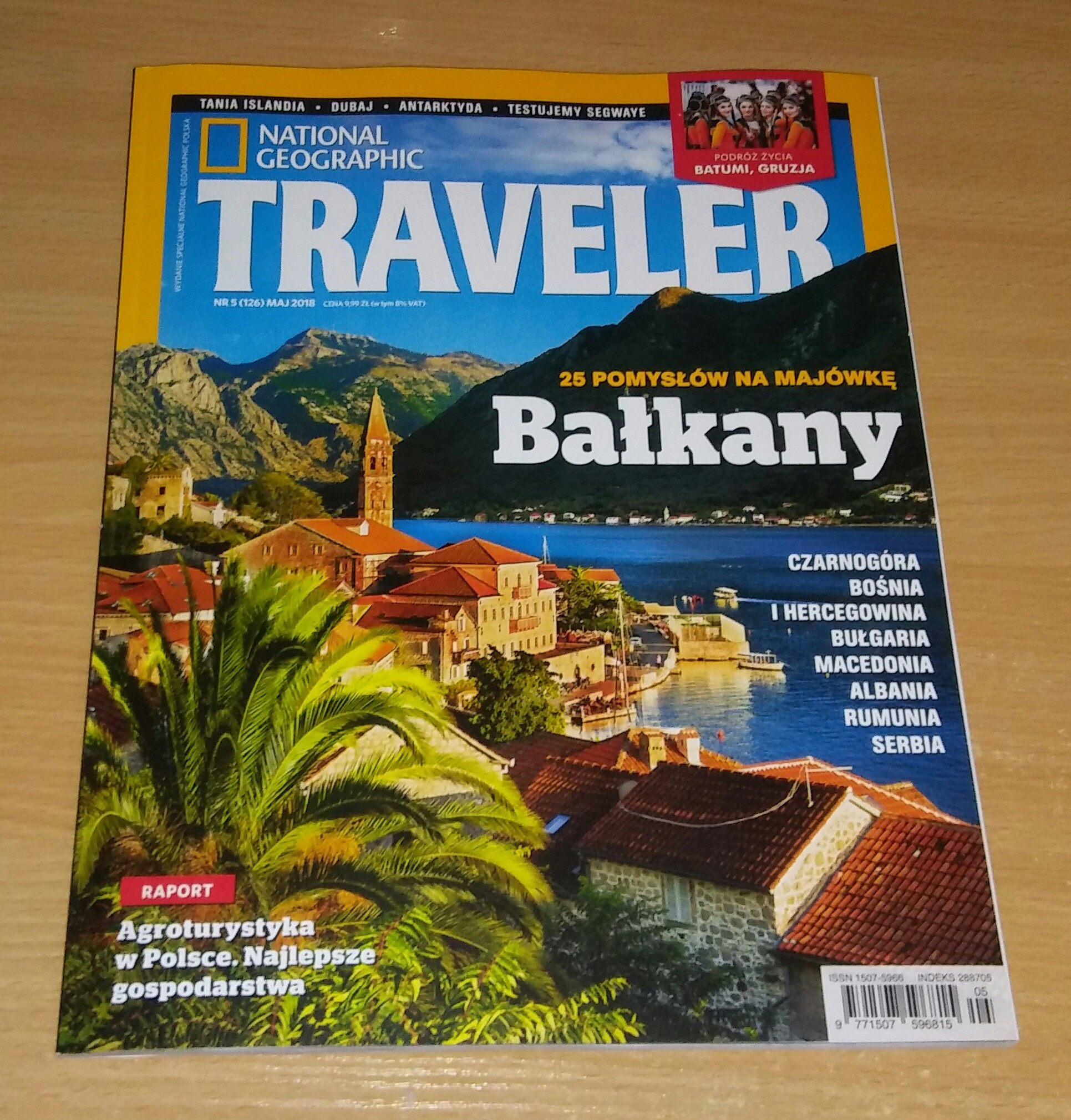 NATIONAL GEOGRAPHIC TRAVELER 5/2018 BAŁKANY