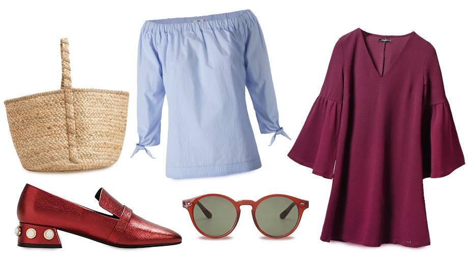 Dekolty hiszpanki, mom jeans, crop topy – jakie wakacyjne trendy zostają w modzie?
