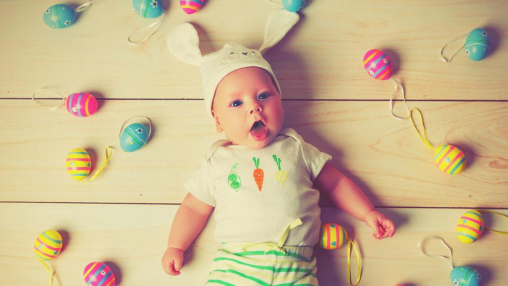 Wielkanocny prezent dla maluszka
