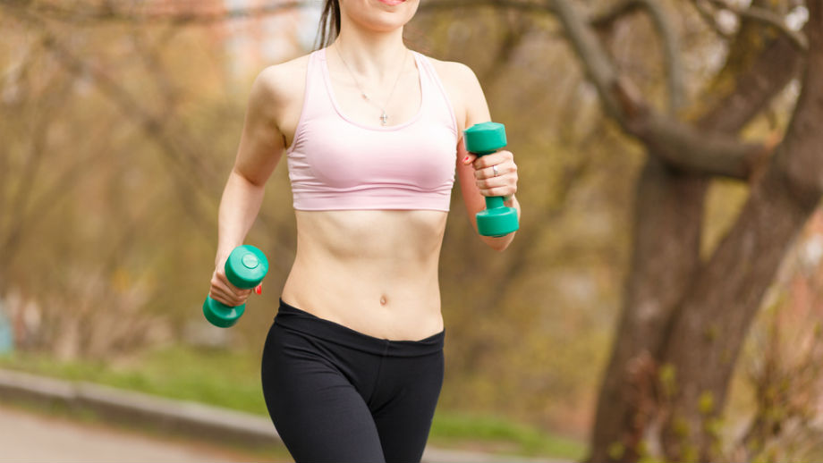 Ćwiczenia z hantlami dla biegaczy