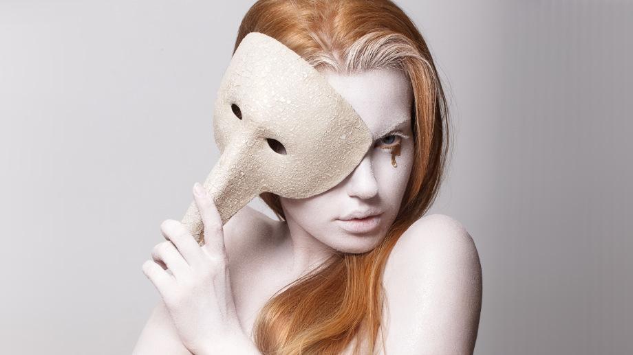 Maska karnawałowa do 10 zł