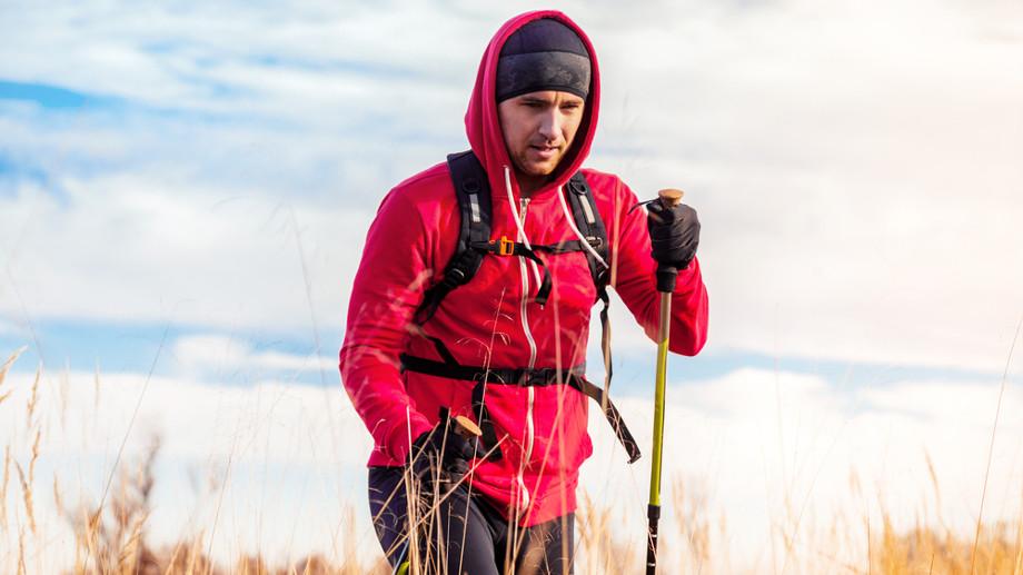 Trekking zimą – rękawice z warstwą antypoślizgową