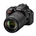 Nikon D5600 + AF-S DX 18-140mm G ED VR Zestaw do lustrzanki 24,2 MP CMOS 6000 x 4000 piksele Czarny
