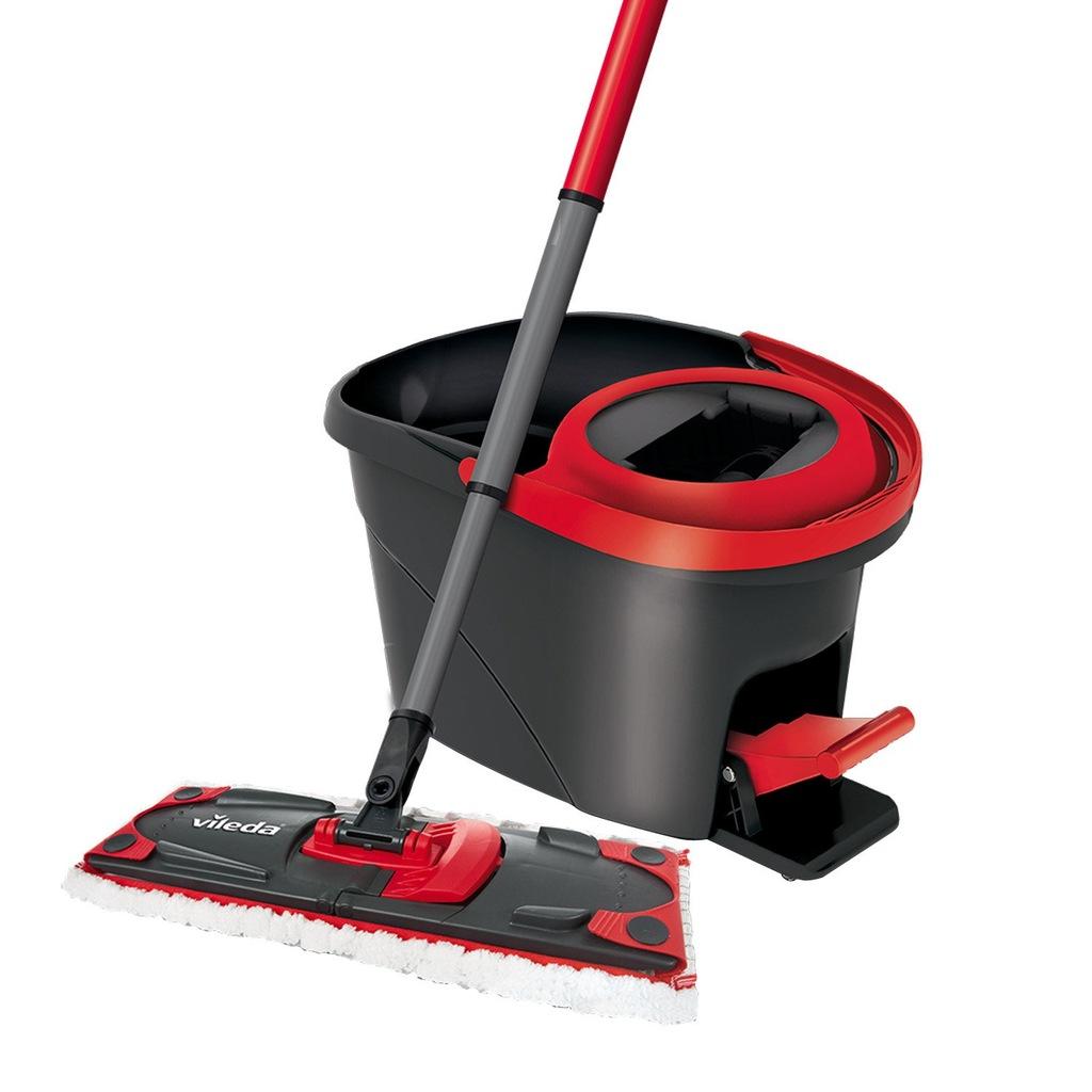 vileda obrotowy mop p aski ultramat easy wring 5931387596. Black Bedroom Furniture Sets. Home Design Ideas