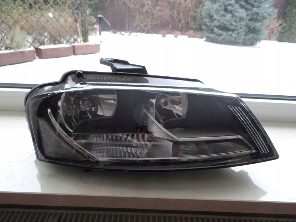 audi a3 8p lampy przednie led z dynamicznym migaczem