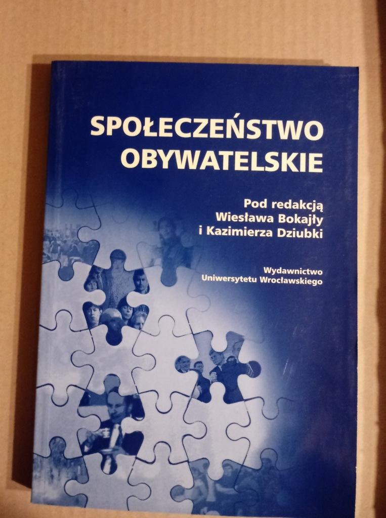 książka Społeczeństwo obywatelskie