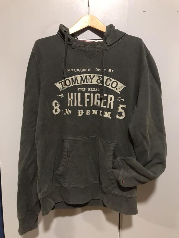 Oliwkowa bluza Tommy Hilfiger M