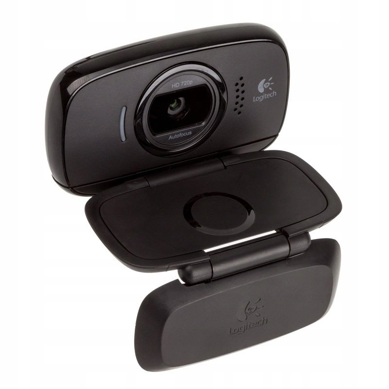 Logitech Webcam B525 HD - czarny
