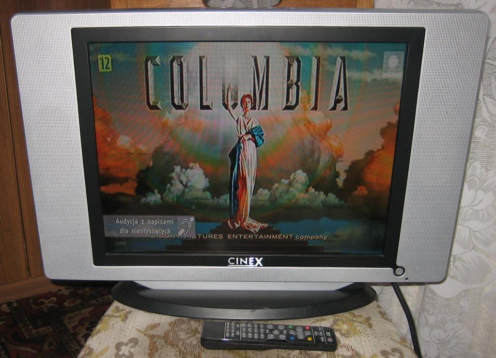 telewizor monitor 20 cali CINEX TFT 51631 POLECAM