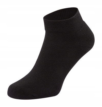 STOPKI MĘSKIE FRUIT OF THE LOOM BLACK (S) 35-38