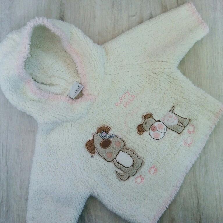 mięciutki sweterek bluza NEXT 3-6 m-cy