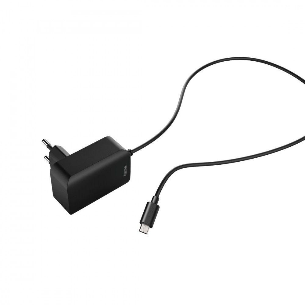 ŁADOWARKA SIECIOWA EASY MICRO USB 230V 2,4A Hama