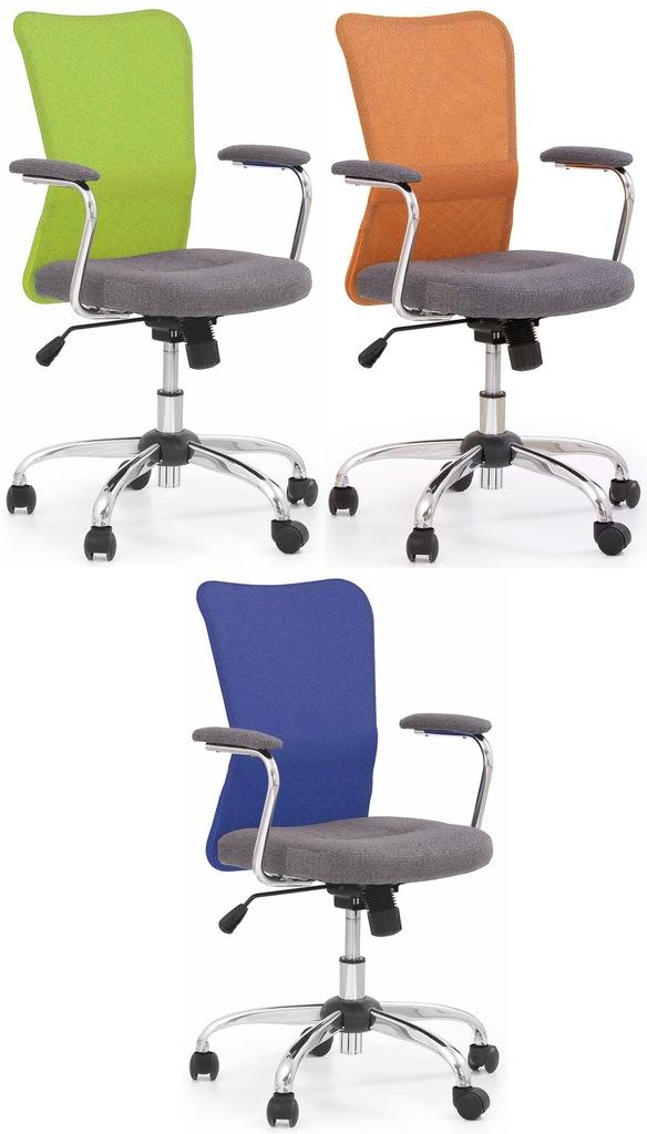 Fotel biurowy obrotowy ANDY zielony Halmar 24H