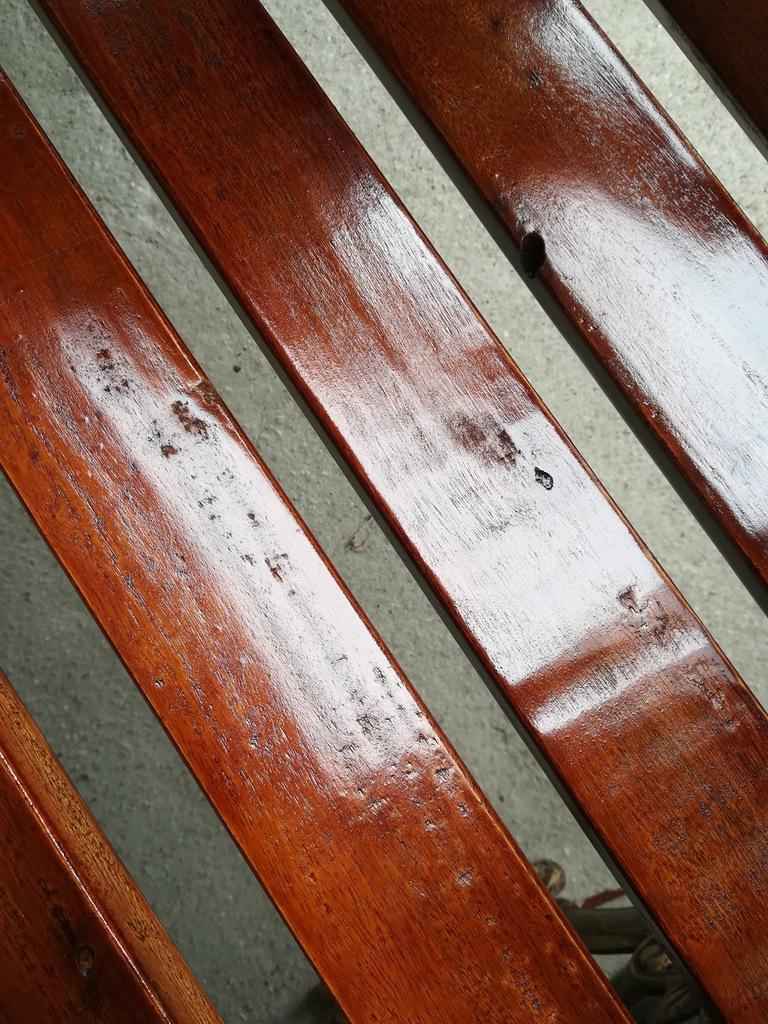 Ławka ogrodowa żeliwna do ogrodu drewniana KRAKÓW