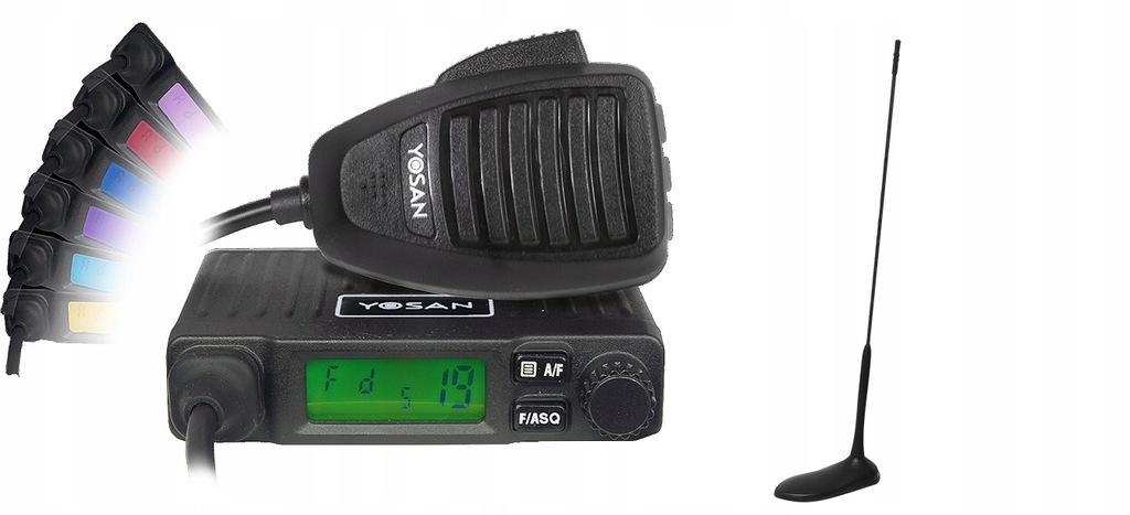 CB RADIO YOSAN MICRO V.2+ ANTENA