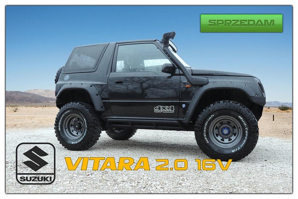 Suzuki Vitara 2 0 16v Off Road Off Road 7136705657 Oficjalne Archiwum Allegro